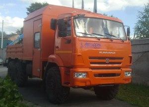 Фургон-мастерская  с КМУ ИМ-55