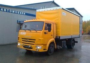 Шторный фургон КАМАЗ 4308