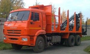 Автомобиль-сортиментовоз с ГМУ СФ-75